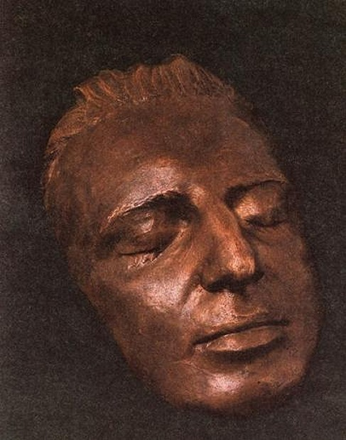 Mozart's death mask ?
