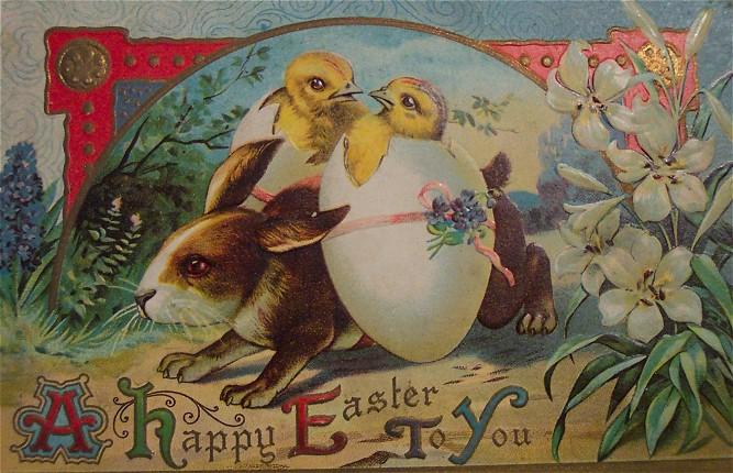 Пасхальные открытки история открытки